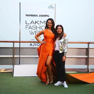 Sonakshi Sinha walks the ramp for designer Monisha Jaising show at Lakme Fashion Week Summer Resort 2017