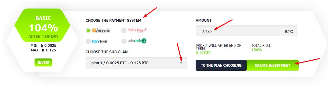 Регистрация в BitcoinCash Trading 5