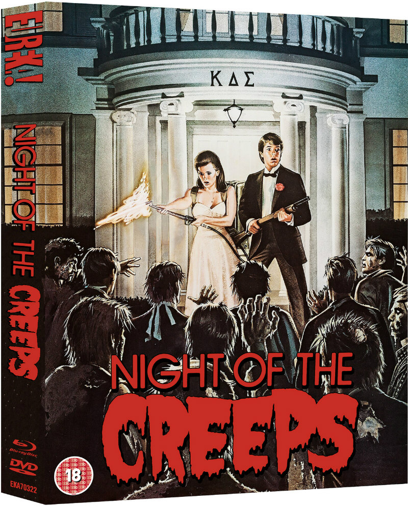 NIGHT OF THE CREEPS eureka blu-ray o-card