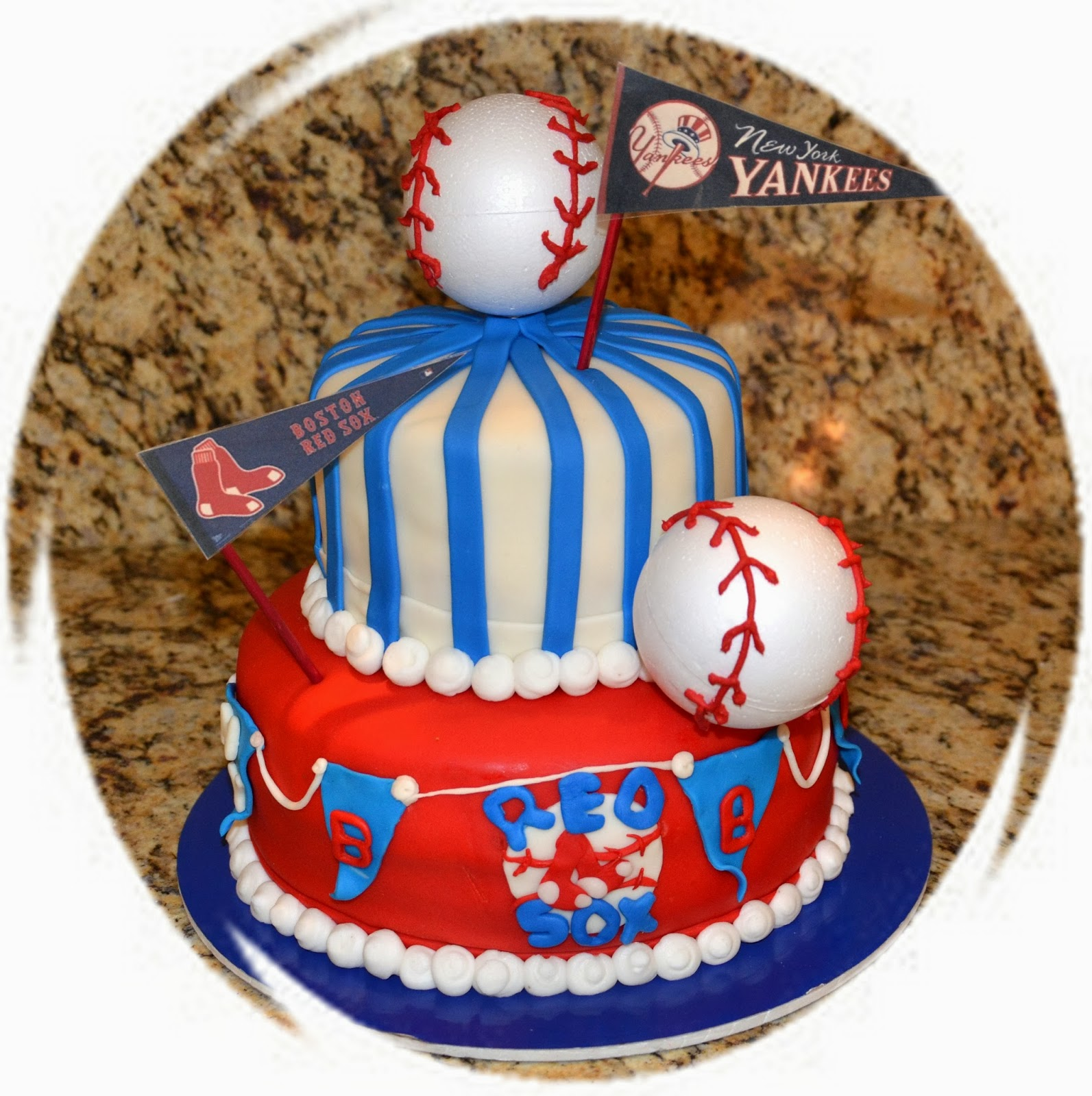 Heloise Cake Go Team Go