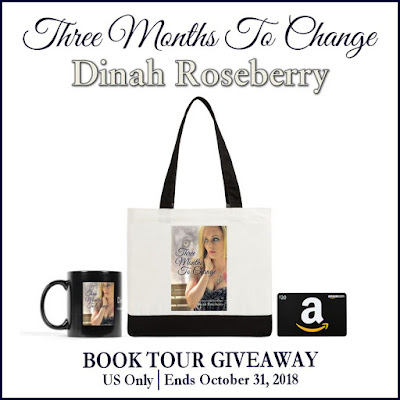 Three Months to Change giveaway graphic