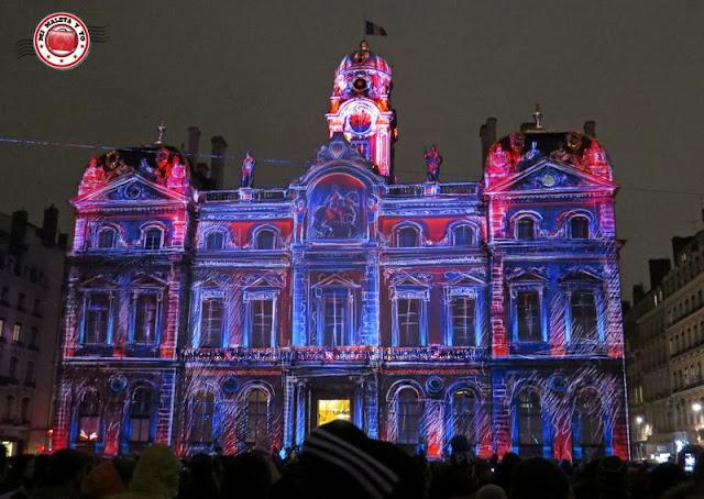 Fête des lumières Lyon - 2014 Ayuntamiento