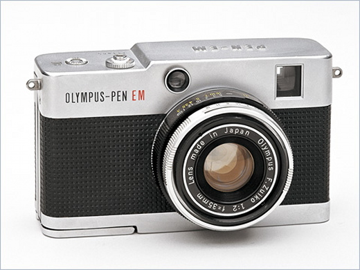 Olympus Pen EM (1965), Olympus Pen Half-Frame Cameras