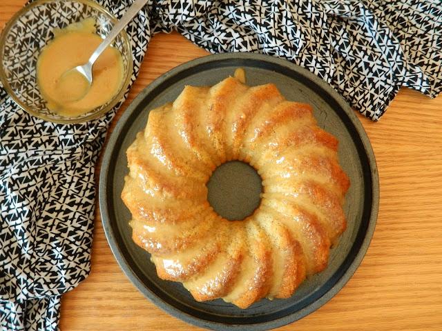 bundtcake-de-platano, sin-gluten