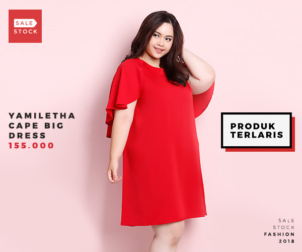 dress big size, dress jumbo