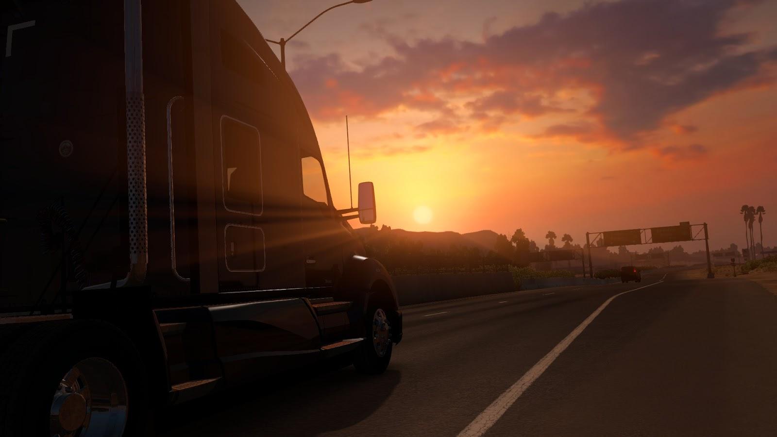 Bristolian Gamer: American Truck Simulator – Truckin through