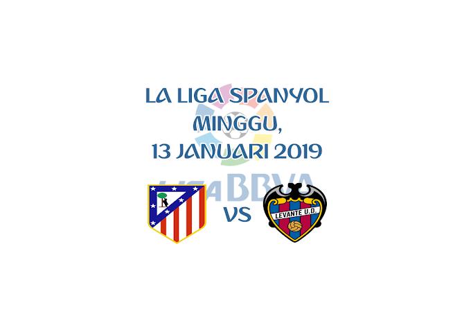 La Liga Spanyol 13 Januari 2019 Live Streaming