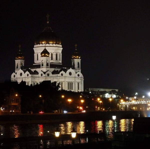 Moskwa, największa cerkiew świata (Sobór Chrystusa Zbawiciela)