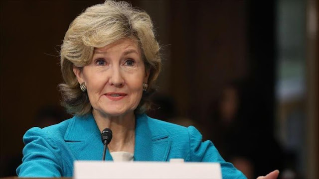 La embajadora de EEUU ante la OTAN pide ataques militares a Siria