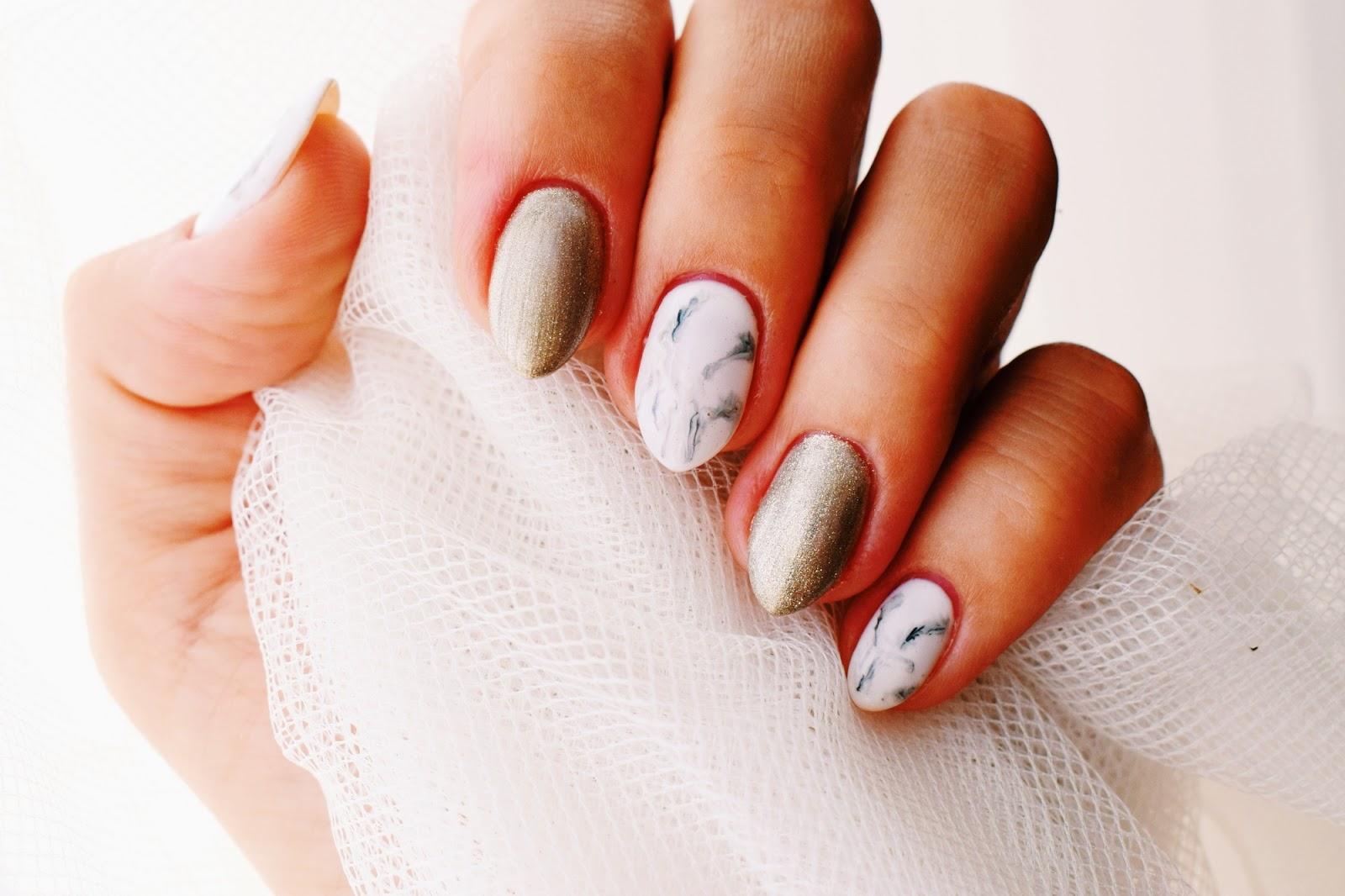 Proste zdobienie paznokci