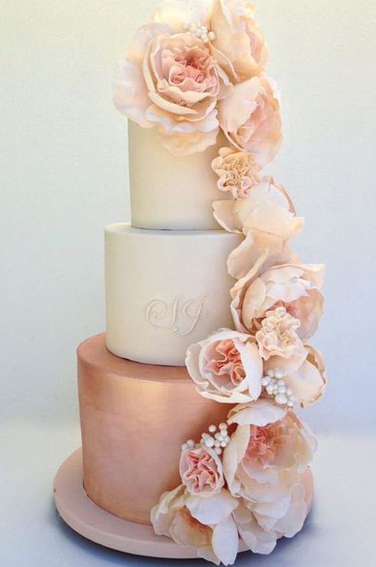 wedding cake toppers rose gold tend 234 ncia de casamento gold solteiras noivas casadas 26591