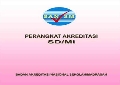 Perangkat Akreditasi untuk SD/MI