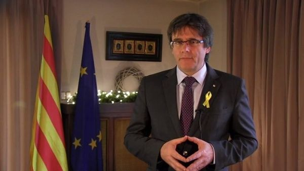 """Carles Puigdemont califica a España como """"Estado delincuente"""""""