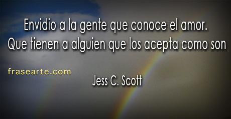 Jess C. Scott – frases de amor