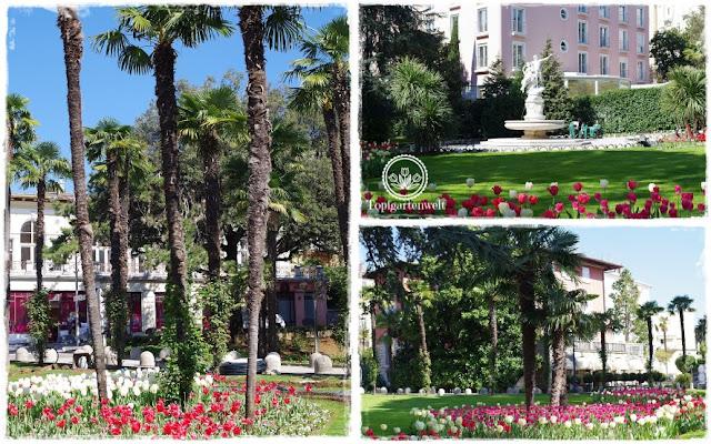 Gartenblog Topfgartenwelt Kroatien: Park in Opatija