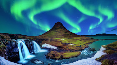 Kirkjufell is the mountain shaped like an arrowhead from the Hound's vision in GOT season seven