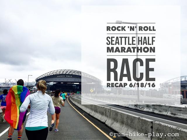 Rock 'n' Roll Seattle Half Marathon Race Recap