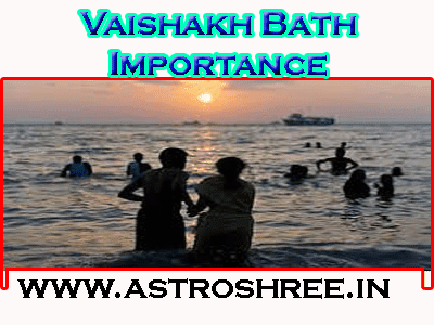 baisakh month bath importance by astrologer
