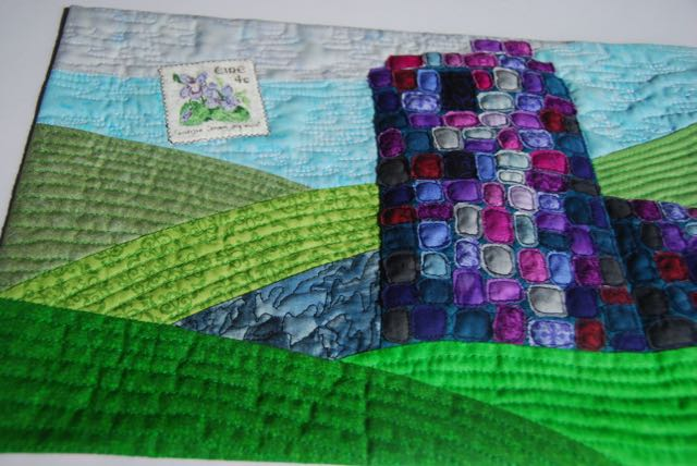 From Ireland with love - a picture-postcard quilt