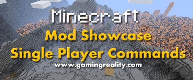 Minecraft SinglePlayerCommands Mods