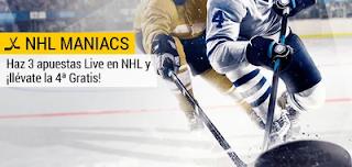 bwin promocion NHL apuesta gratis solo por jugar 1-31 diciembre