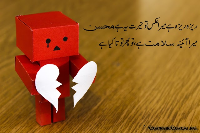 Reza Reza Hain Akes To Phir Heret Ye Hain mohsin // Mohsin Naqvi Sad Urdu Poetry