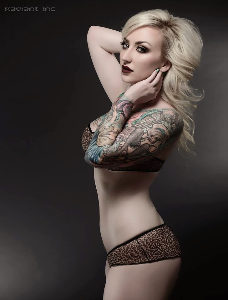 Skyeann Giglio Pics | Sexy Tattooed Girls | Female Models With Tattoos