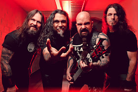 Heavy metal legends Slayer
