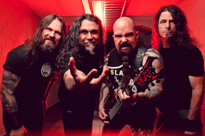 Heavy metal legends Slayer