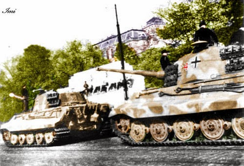 World War Ii In Pictures King Tiger Ii Lord Of The Battlefield