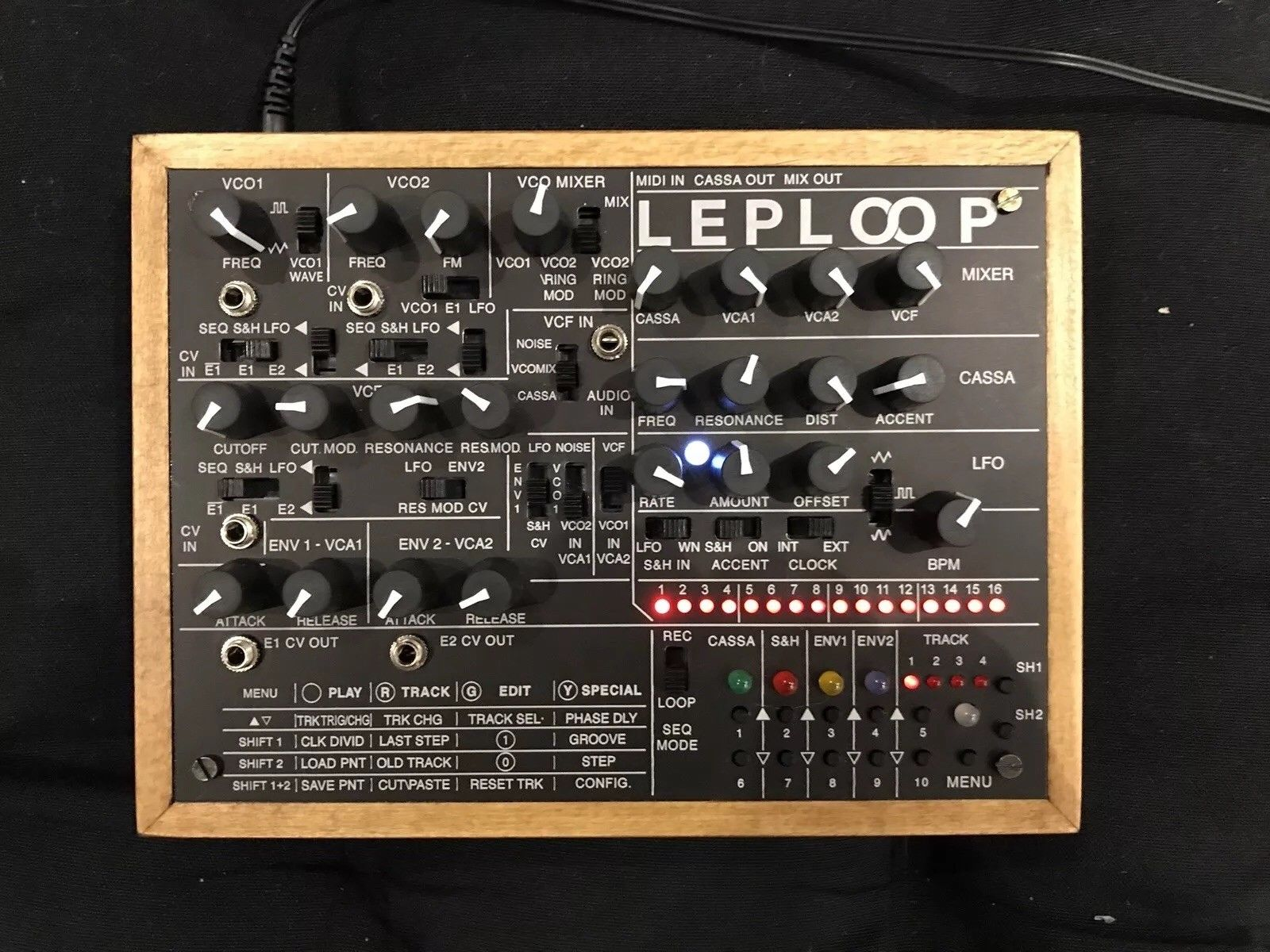 matrixsynth leploop synth sequencer drum machine groovebox. Black Bedroom Furniture Sets. Home Design Ideas