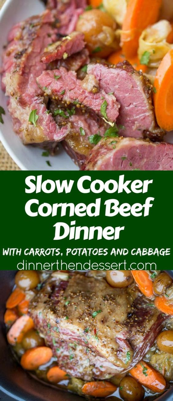 SLOW COOKER CORNED BEEF DINNER