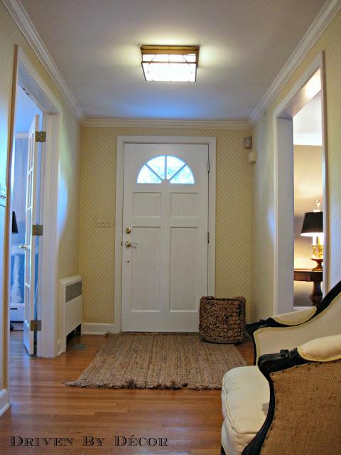 Foyer Ceiling Jobs : Our new light my love for quatrefoil design driven