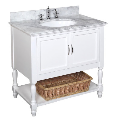 Pottery Barn Newport Vanity knock off