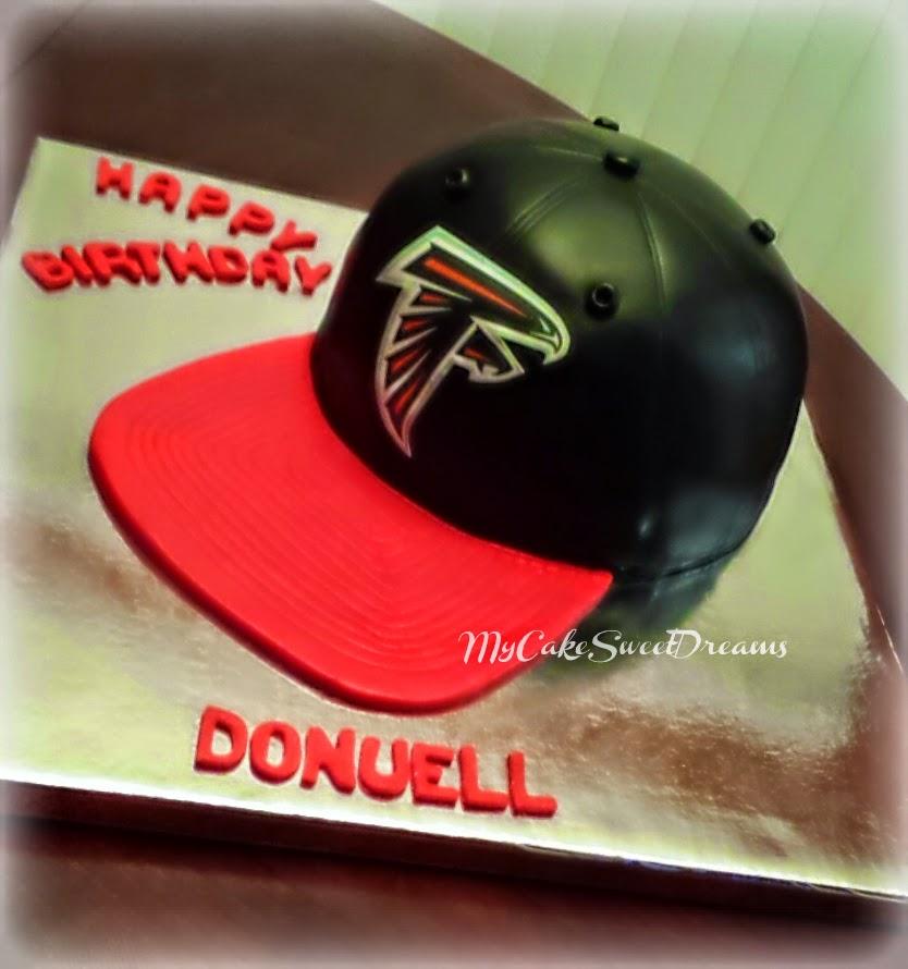 My Cake Sweet Dreams: Atlanta Falcons Hat Cake