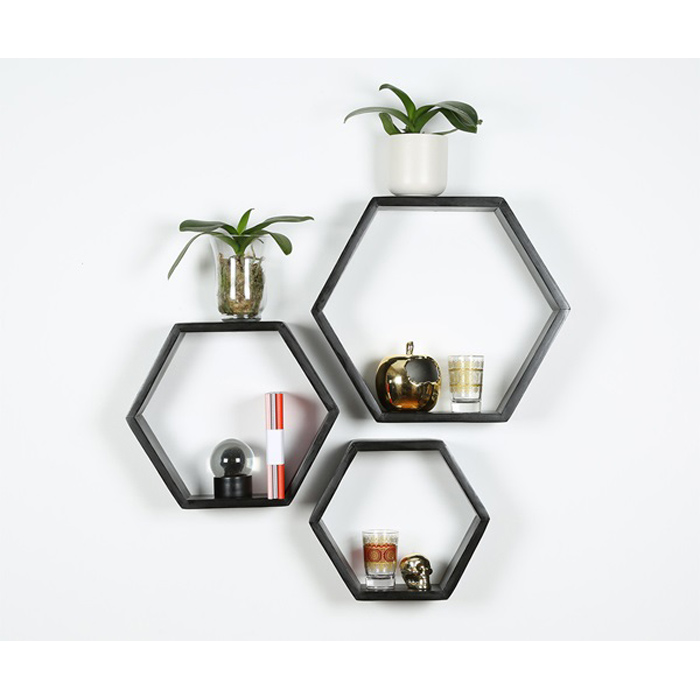 CORNER SHELVES AND PICTURES FRAMES DECORS