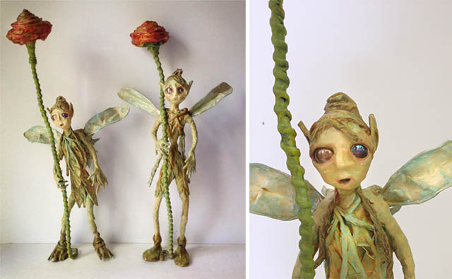 freestanding flower fairies