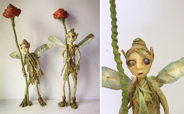 freestanding flower fairies