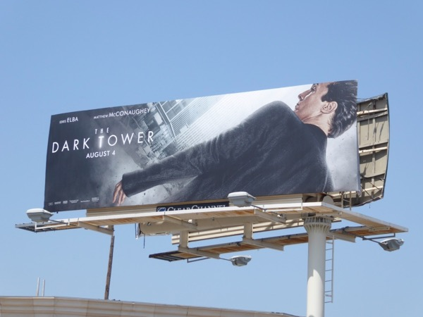 Matthew McConaughey Dark Tower billboard