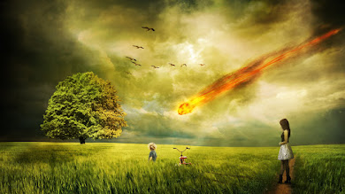 Asteroid Burning in Atmosphere