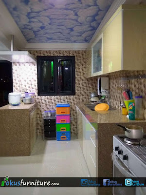Kitchen set minimalis Kebon jeruk