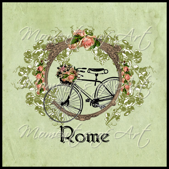 Garden Bike I Rome