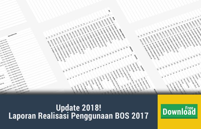 Contoh Laporan Realisasi Penggunaan Dana BOS 2017