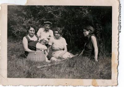 Vieilles photos noir et blanc d'Auvergne