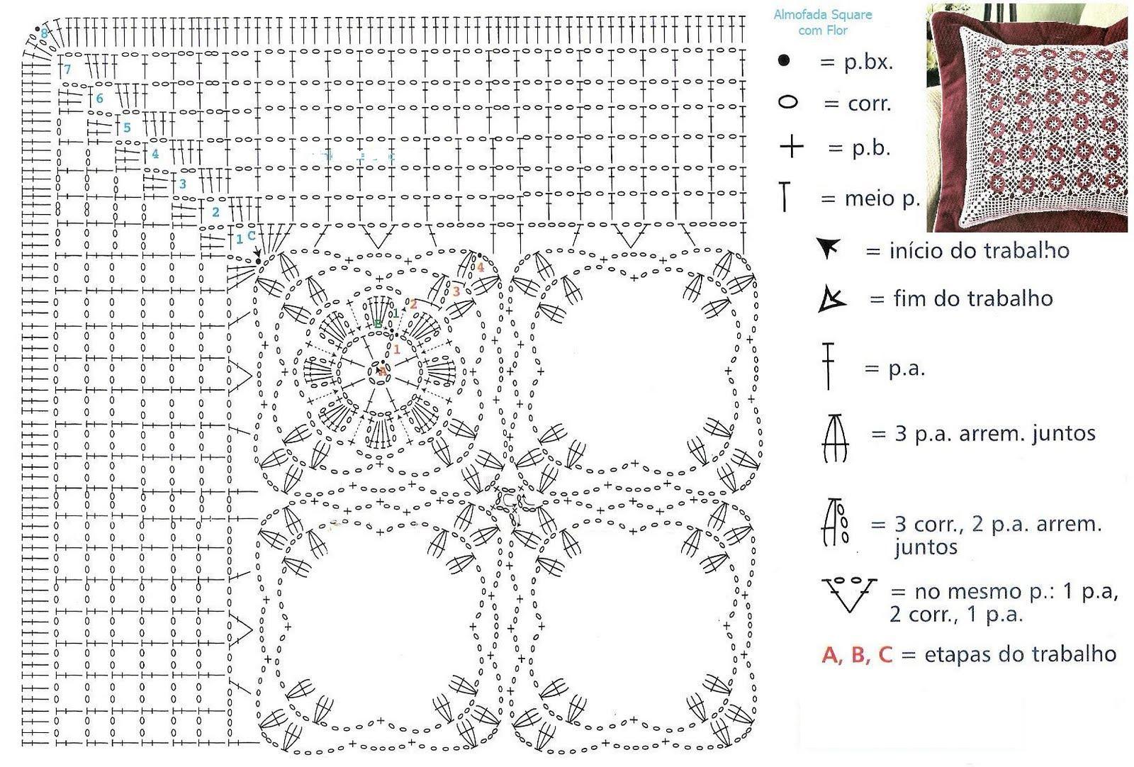 боец маске подушка крючком схема и описание фото привычные сочетания