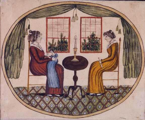 Two Women (1820), Eunice Pinney