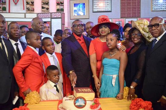CAN President Pastor Ayo Oritsejafor Celebrates His Birthday In Style - Photos