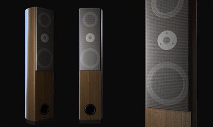 speaker 3d model free