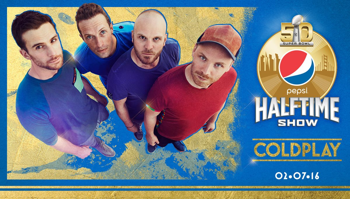 Super Bowl 50: Coldplay Halftime Show - HD 720p