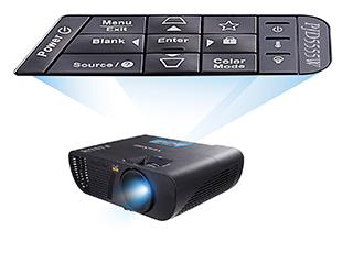 ViewSonic LightStream PJD5555W 1